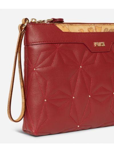 Shiny Star Pochette con polsiera Rossa