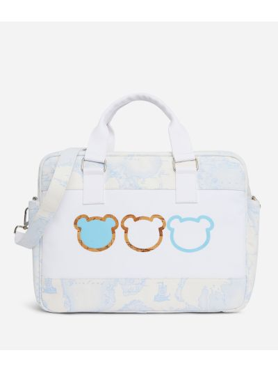 Changing bag in Geo Sky and teddy bears
