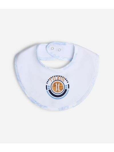 Baby bib with 1C logo