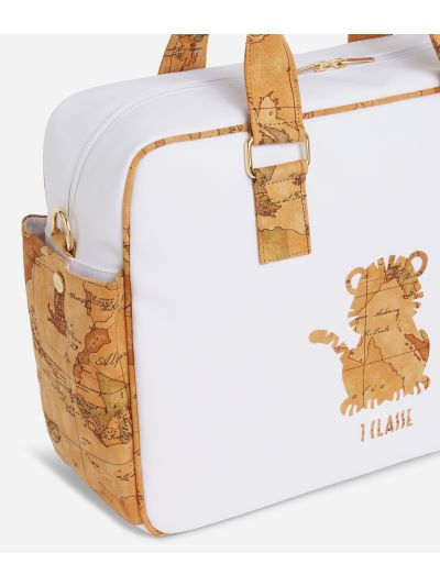 Baby changing bag with tiger