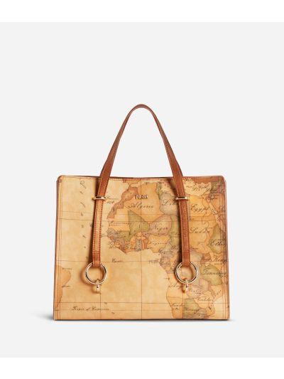 Geo Boulevard Convertible handbag in Geo Classic fabric