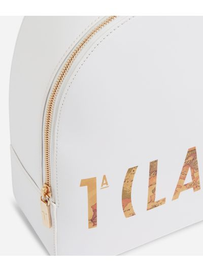 Summer Vibes Backpack with maxi logo 1a Classe White