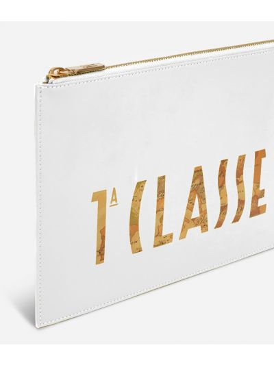 Summer Vibes Pouch with maxi logo 1a Classe White