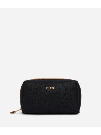 Dream Geo medium Beauty Case Black