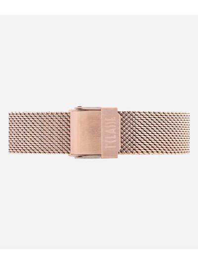 Ischia Orologio in acciaio oro rosa